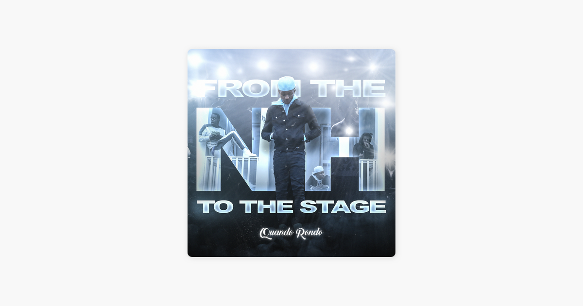 From the Neighborhood to the Stage – Quando Rondo