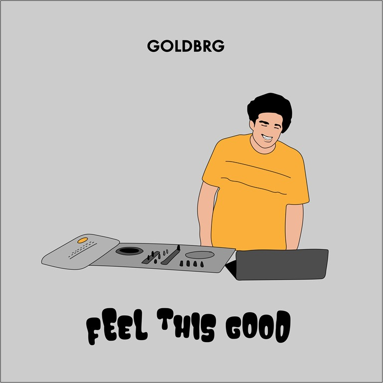 From The Nation of Dance Los Angeles USA: Emerging DJ & producer Goldbrg has made a solid impression with his debut cut, 'Feel This Good' – delivering an infectious slice of vocal dance music.