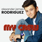From The Nations of Britain and Hollywood: British actor and fresh on the scene young Hollywood pop artist 'Alexander James Rodriguez' unleashes a warm, shiny, fun, friendly, boppy and melodic new single with his sweet debut 'My Crew'