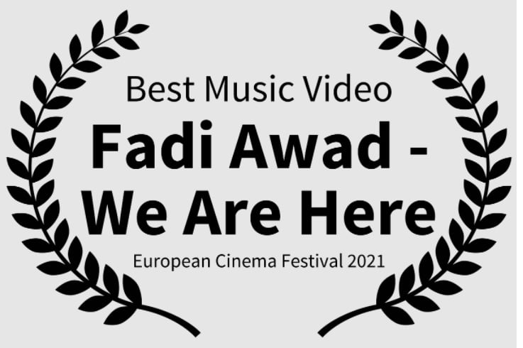 Madrid hosted The European Cinema Festival and composer Fadi Awad won three awards for his song 'We Are Here'