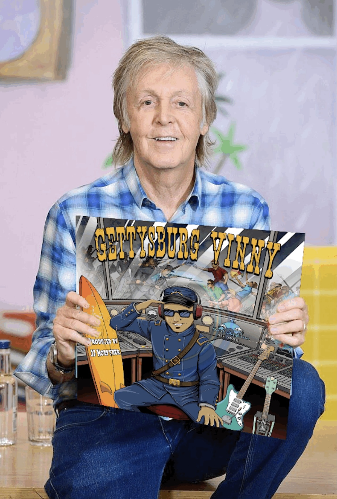 "Dick Dale's surf guitar protégée 'Beachfront Vinny' releases ""Gettysburg Vinny"""