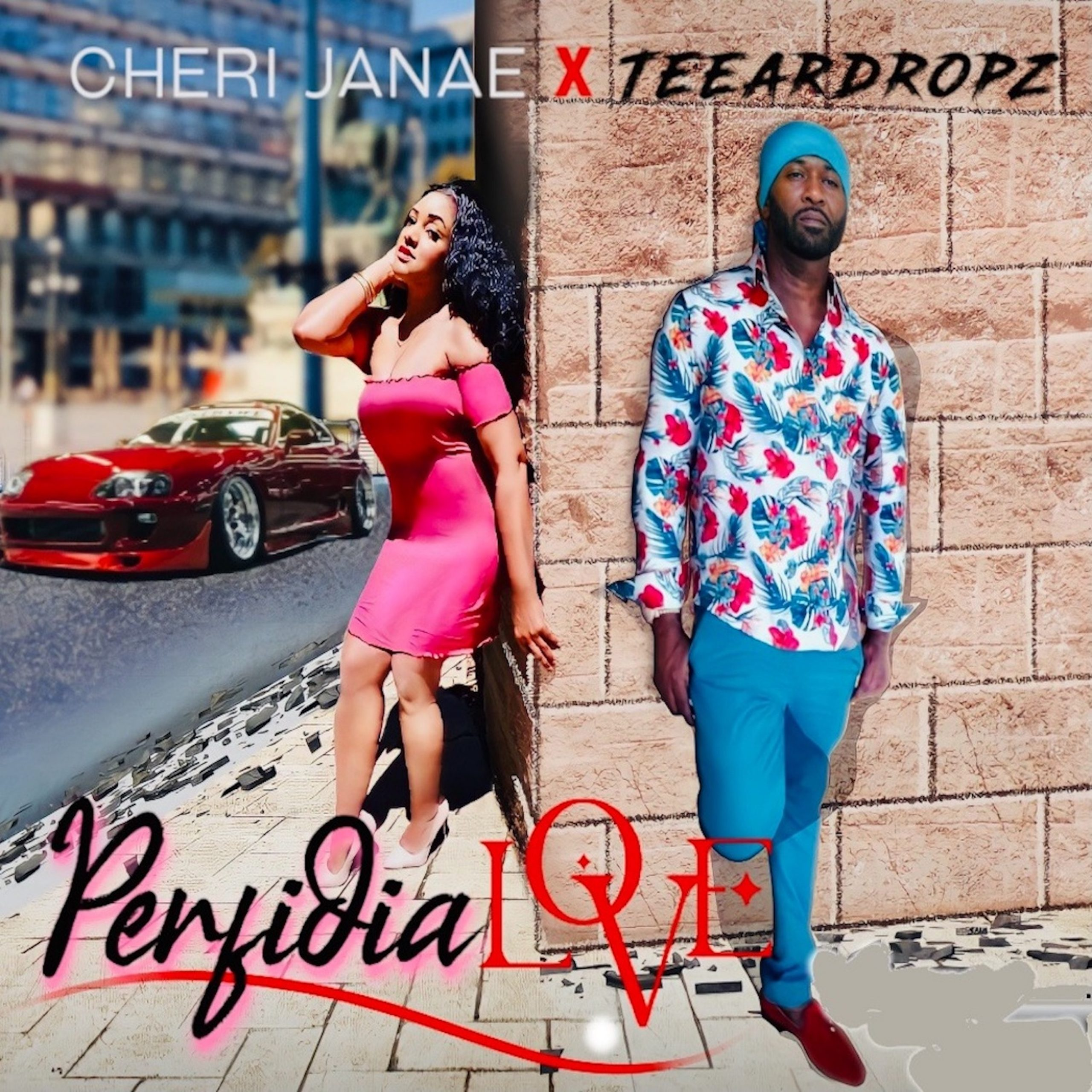 Along with rising reggae/reggaeton star Teeardropz, 'Cheri Janae' releases ' Perfidia Love'